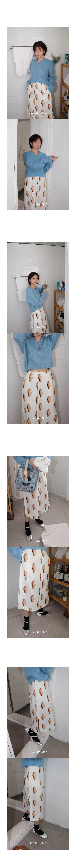 플리즈프로젝트(PLZPROJECT) foot cooker sandwich skirt_ivory