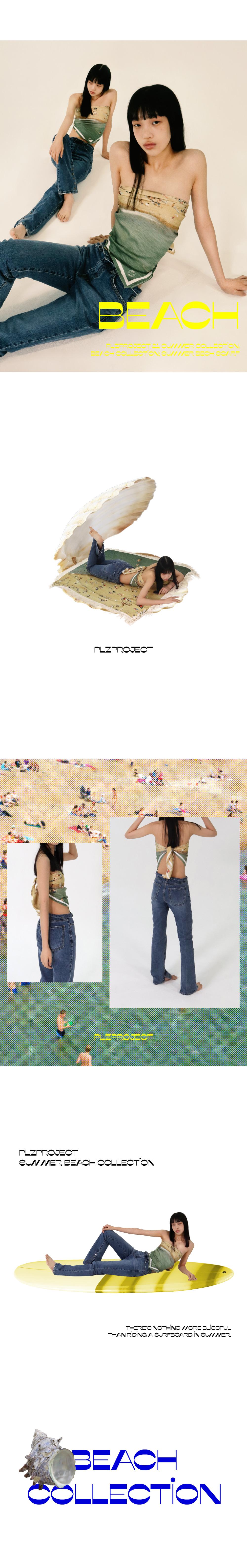 플리즈프로젝트(PLZPROJECT) summer beach scarf