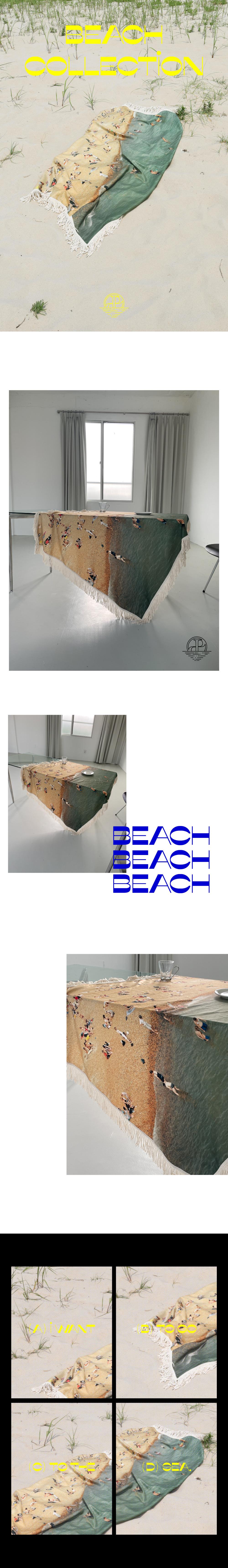 플리즈프로젝트(PLZPROJECT) summer beach blanket